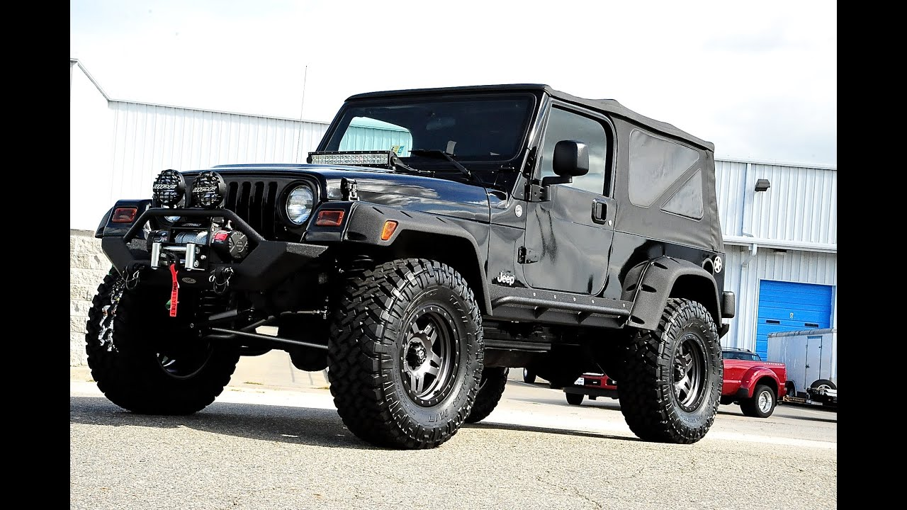 Davis Autosports Wrangler Lj Modded And Lifted For Sale