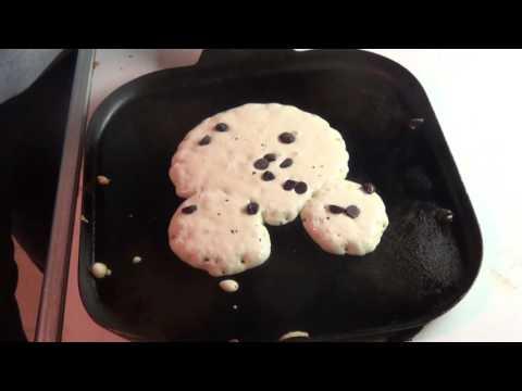 Tim Norton How to Mickey Mouse Pancakes