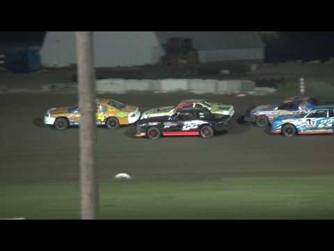 IMCA Stock Car feature Marshalltown Speedway 5/26/17