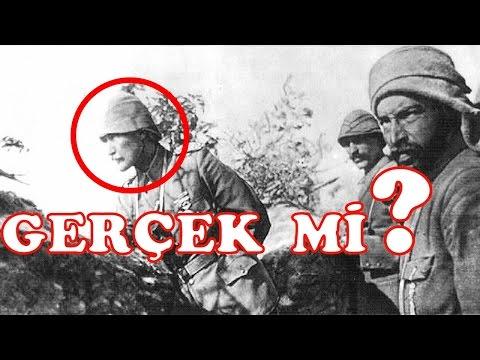 Çanakkale'de Mustafa Kemal Atatürk...