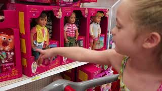 HUGE OUR GENERATION DOLL SECTION AT SUPER TARGET! SHOP WITH ME   INtoyreviews