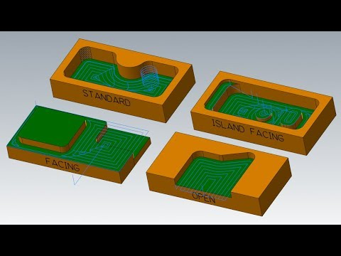 MASTERCAM TUTORIAL: 2D POCKET TOOLPATHS (PART 1/2)
