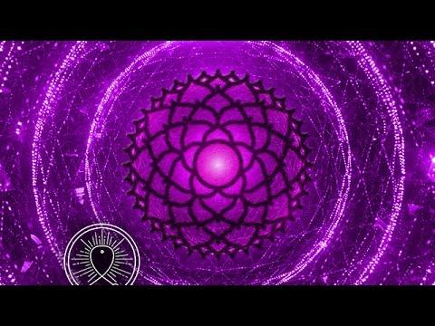Sleeping Meditation Music & Binaural Beats: sleep meditation for insomnia, Crown Chakra sleep music