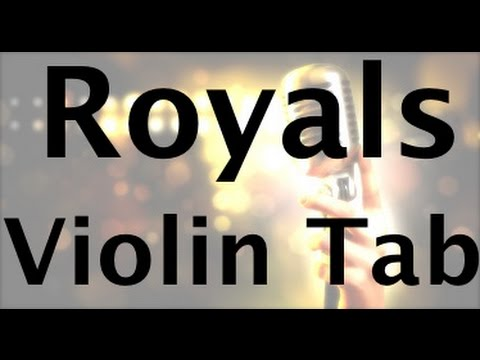 Learn Royals by Lorde on Violin - How to Play Tutorial