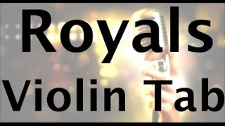 learn royals by lorde on violin how to play tutorial