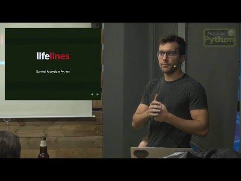 Lifelines: Survival Analysis in Python #MP48