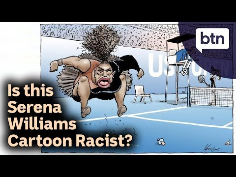 Is this Serena Williams Cartoon Racist? - Behind the News