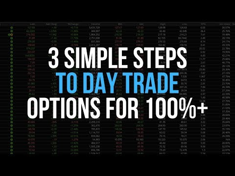 3 Simple Strategies To Make A Living Day Trading Options | 100%+ A Week