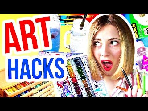 10 ART HACKS Every Artist Needs To Know!