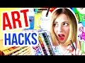 10 ART HACKS Every Artist Needs To Know!