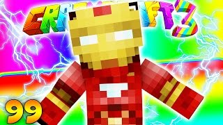 Minecraft CRAZY CRAFT 3.0 - Iron Man Mod Armor #99