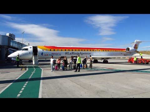 TRIP REPORT | Air Nostrum (Economy) | Turin to Madrid | CRJ-1000 | Full Flight [Full HD]