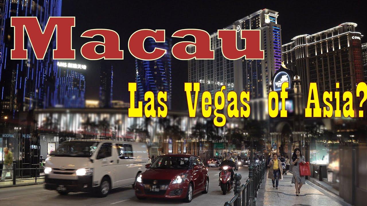 Macau China 4k - the Las Vegas of Asia?