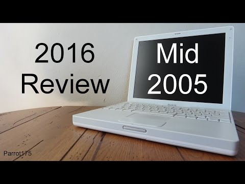 Apple iBook G4 Mid 2005 PowerPC (2016 Review)