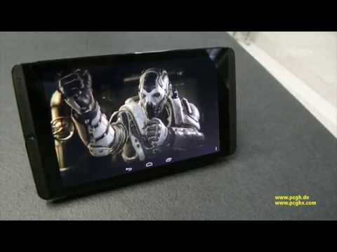 Nvidia Shield Tablet | UE4 Rivalry-Demo