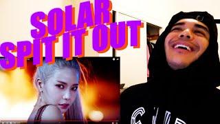Baixar SOLAR - 뱉어(Spit it out) MV Reaction [YES SOLAR!]