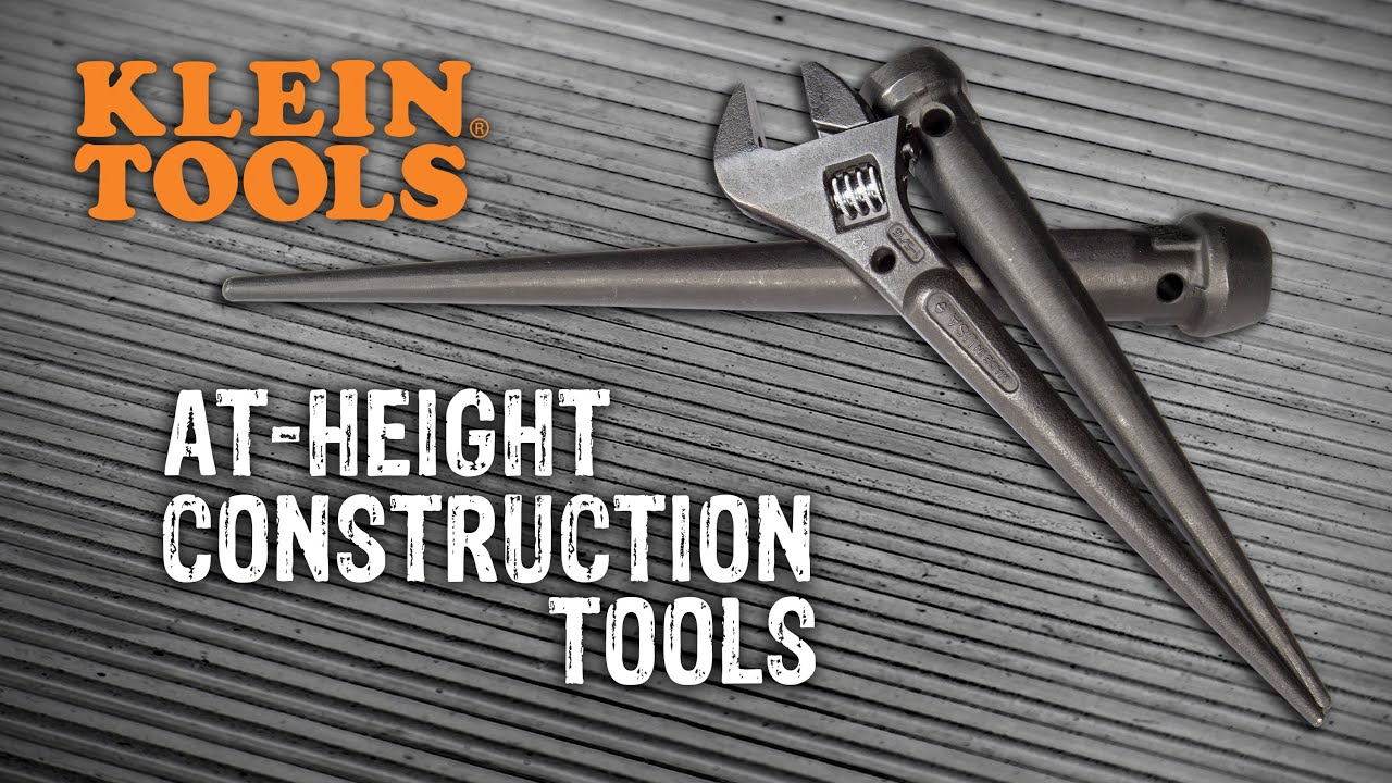 Klein Tools Construction Tools With Lanyard Holes - GME Supply