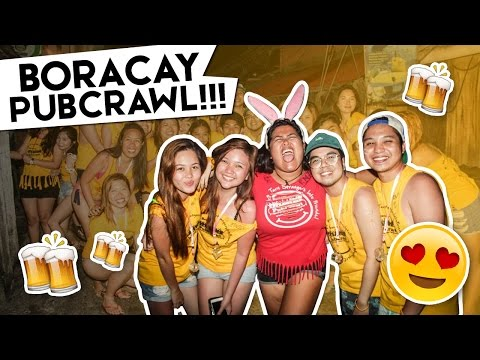 Boracay PubCrawl (Party, Party! Walwal pa more!) | #RedVlogs