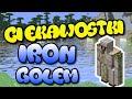 10 Ciekawostek o ► Żelazny Golem ( Iron Golem ) [ Minecraft ]