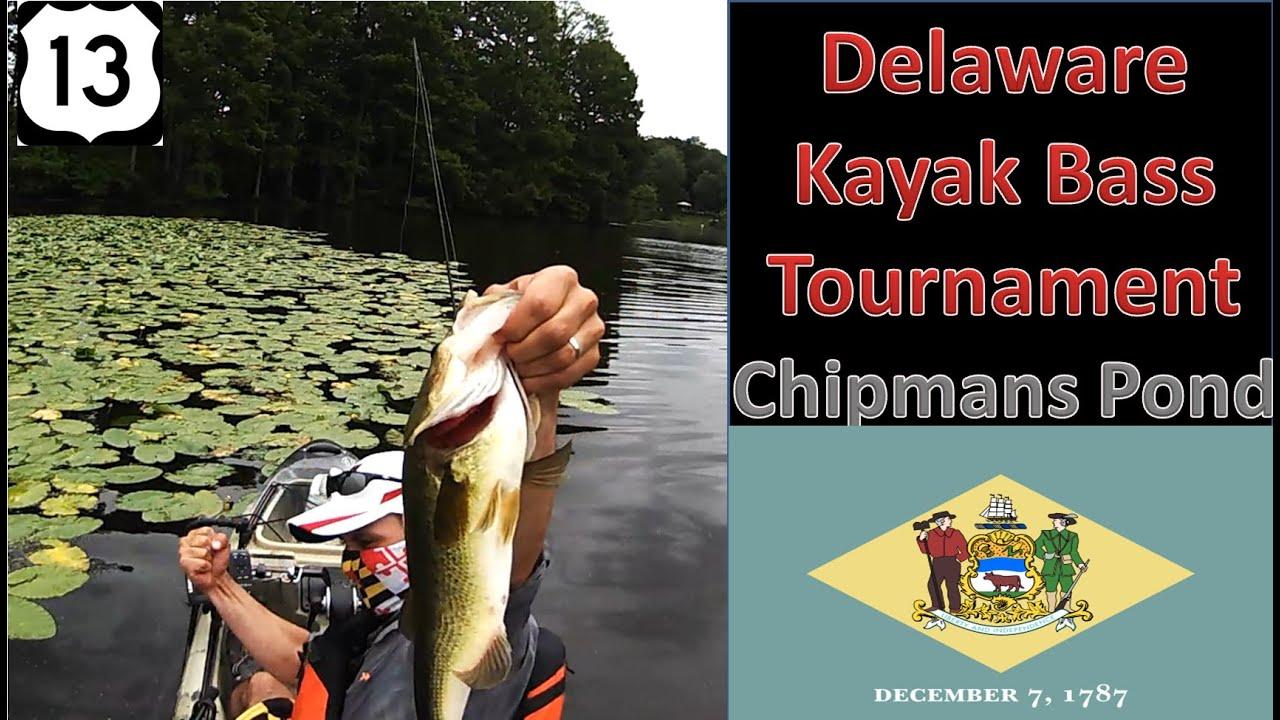 Kayak bass tournament delaware june 2015 youtube for Kayak bass fishing tournaments