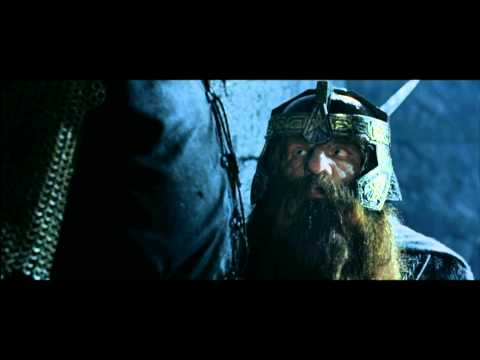 Le Seigneur Des Anneaux 2 - Lancé De Nain (Scène Culte)