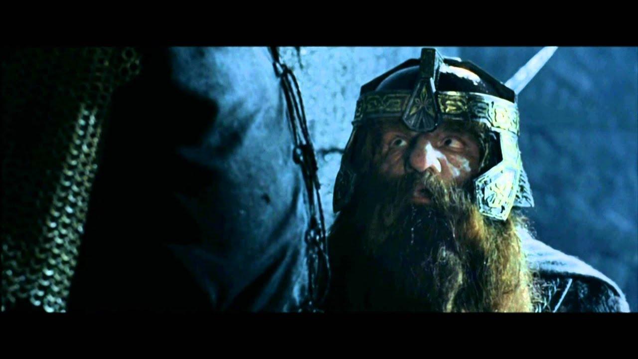 Le seigneur des anneaux 2 lanc de nain sc ne culte youtube - Tatouage seigneur des anneaux ...