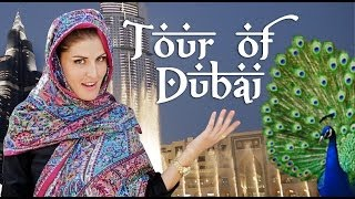 DUBAI TOUR OF THE CITY!