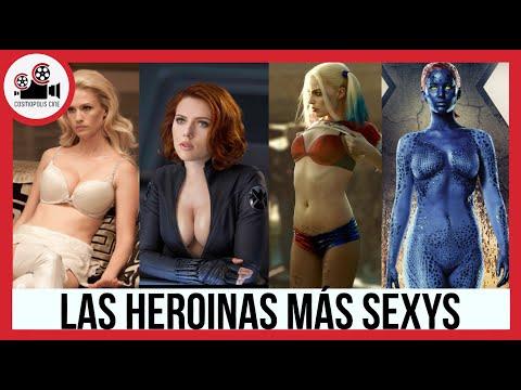 LAS HEROINAS MÁS SEXYS