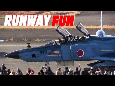 縦横無尽!!! RF-4ファントムが飛び回る!!! 偵察航空隊501SQ 新田原基地エアフェスタ2017(事前公開)
