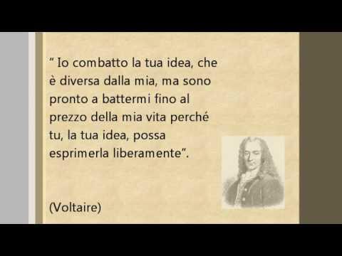 4 Frasi Celebri Di Voltaire Aforismi Amore Amicizia Youtube