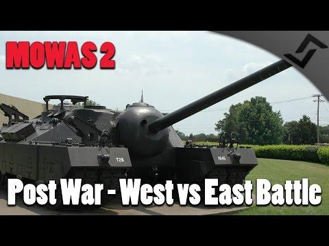 Men of War: Assault Squad 2 - Post War - East vs West Tank Battle