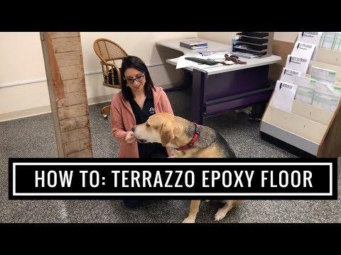 How To Install Terrazzo Epoxy Flooring 3 Years Later