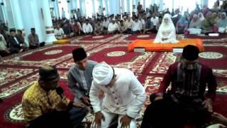 Ijab kabul di Mesjid Baiturrahman KOTA BANDA ACEH