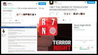 R7N | PixelFlame Meets Co-Founder of Poodlecorp! Upload GIFs in ROBLOX? Terror Night Closed!