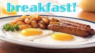 Breakfast for Gamers - Sausage and Eggs - Food Tip #1