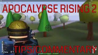 Apocalypse Rising 2 Tips! | ROBLOX | Apocalypse Rising 2