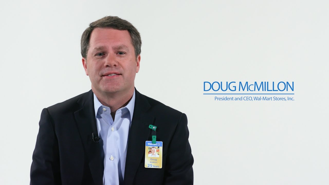 Wal-Mart Stores, Inc  President and CEO, Doug McMillon, outlines the  company's objectives