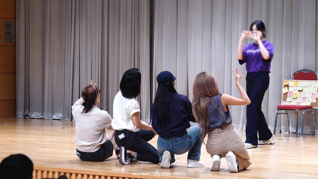 [4K] 210613 KBS미디어센터 심석홀 팬싸인회 마마무 직캠 (Mamamoo Fancam)