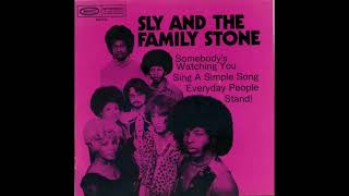 Sly & The Family Stone -  Somebody's Watching You