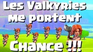 [COC] RUSH HDV 10 | LES VALKYRIES ME PORTENT CHANCE | CLASH OF CLANS FRANCAIS