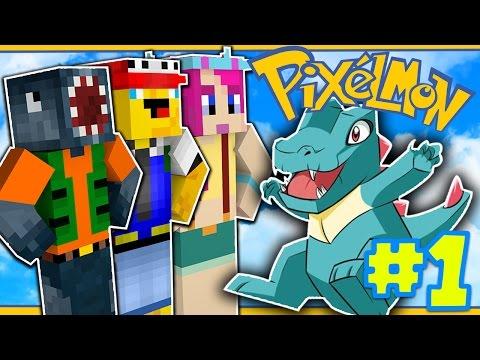 MY TOTODILE! [1] - PIXELMON W/Ash & Amy!
