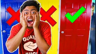 Don't Choose The Wrong Mystery Door