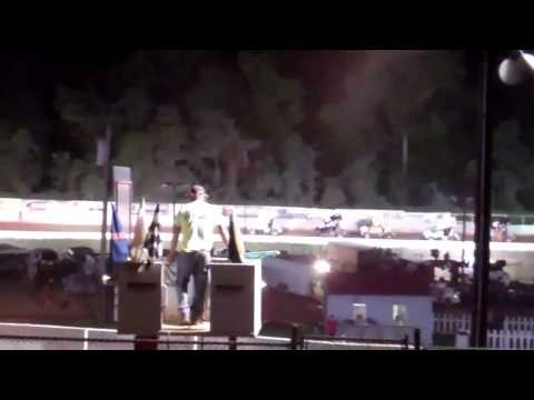 Carolina RaceSaver Sprint Car Series 8/3/2013 East Lincoln Speedway