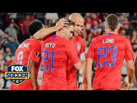 USMNT takeaways from a promising Gold Cup opener   FOX Soccer Tonight™