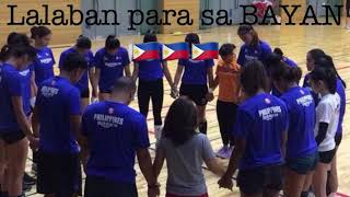 Philippine Women's National Volleyball Team Preparation for Asian Games