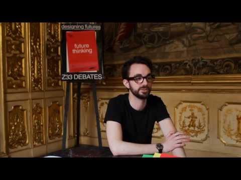 Tobias Revell - Z33 Debates: Designing Futures - Future Thinking Milan 2014  Z33