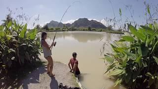 Fishing in Thailand 2017 - Angeln in Thailand - Claudia Darga Jurassic Mountain Resort
