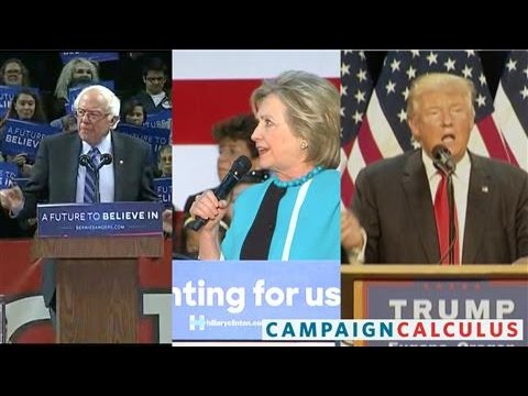 Clinton Nearly Tied with Trump in Key Swing States - YouTube