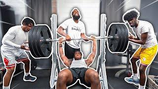 Bench Press Strength Challenge w/ Deestroying & B Lou!