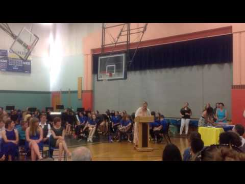Shapleigh School 8th Grade Promotion - Ms. Ayotte Academic Awards